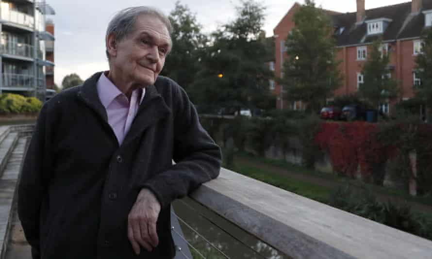 Roger Penrose, winner of the 2020 Nobel prize for physics, Oxford, October 2020