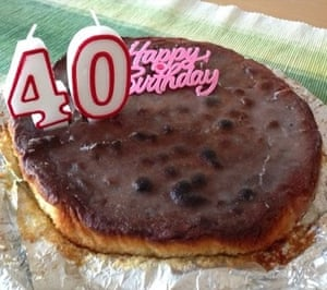 My 40th Birthday Cake It's the thought that counts