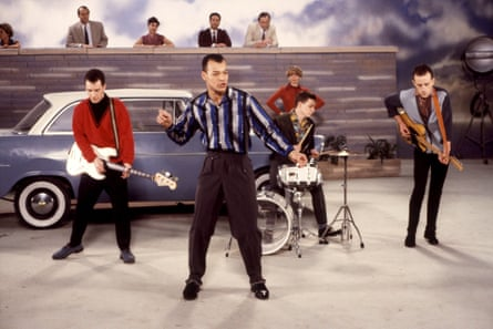 """'We became an """"arrive separately"""" band' ... Fine Young Cannibals in 1987."""