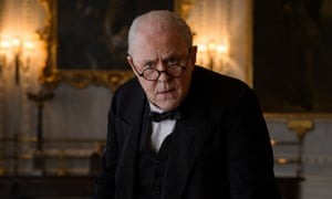 'You get north of 70 years old and you become a little Churchillian, in spite of yourself' … Lithgow as Churchill in The Crown.
