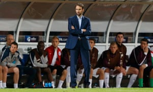 Gareth Southgate managed England at the European Under-21 Championship in the Czech Republic in 2015
