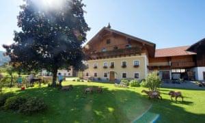 bachbauer farmhouse, austria