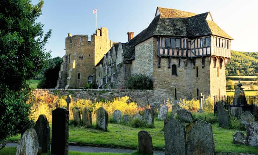 Stokesay Castle, Craven Arms, Shropshire England