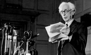 Bertrand Russell's peace declaration, 9 July 1955.