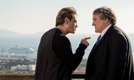 Betrayed by his protege ... Robert Taro (Gérard Depardieu) with Luca Barrès (Benoît Magimel).