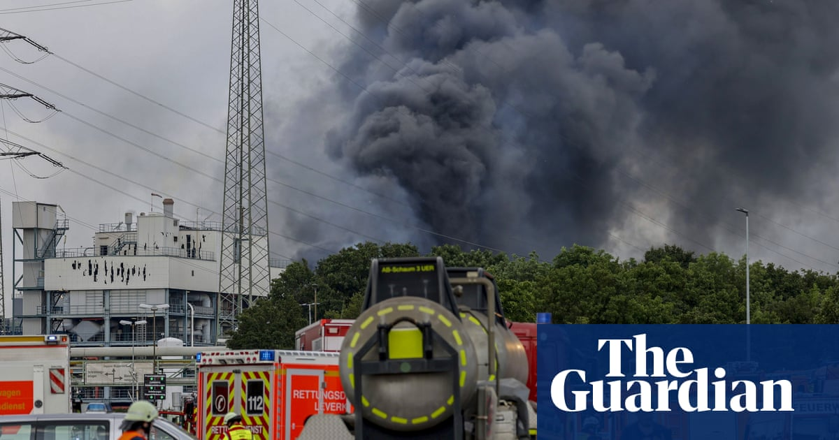Five missing as German chemical park blast declared 'extreme threat'