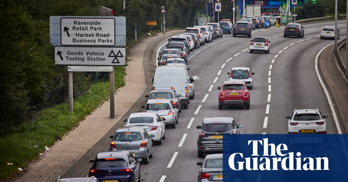 'I was empty, I'm not panic-buying': in the petrol queue on the North Circular