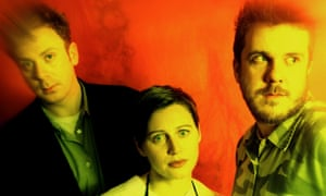 Cocteau Twins in 1996, (from left) Simon Raymonde, Elizabeth Fraser and Robin Guthrie.