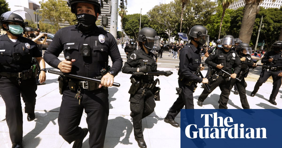 Revealed: LAPD officers told to collect social media data on every civilian they stop