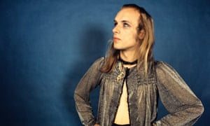 Brian Eno in 1972, about to embark on his solo career.