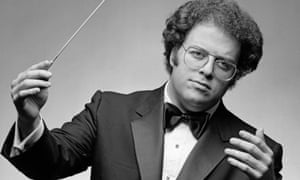 James Levine in the early 1980s.