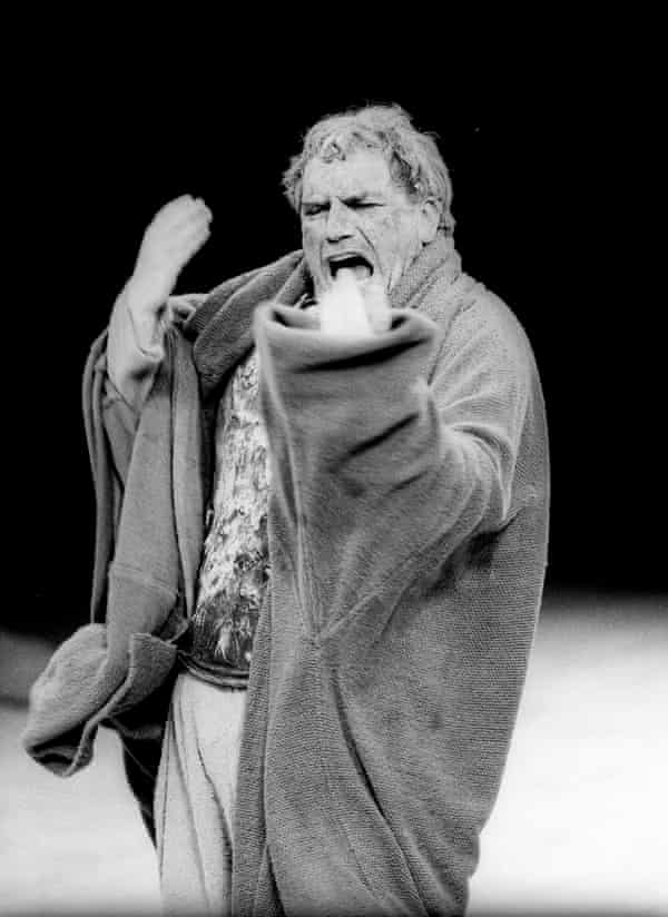 As Titus Andronicus at the Barbican, London.