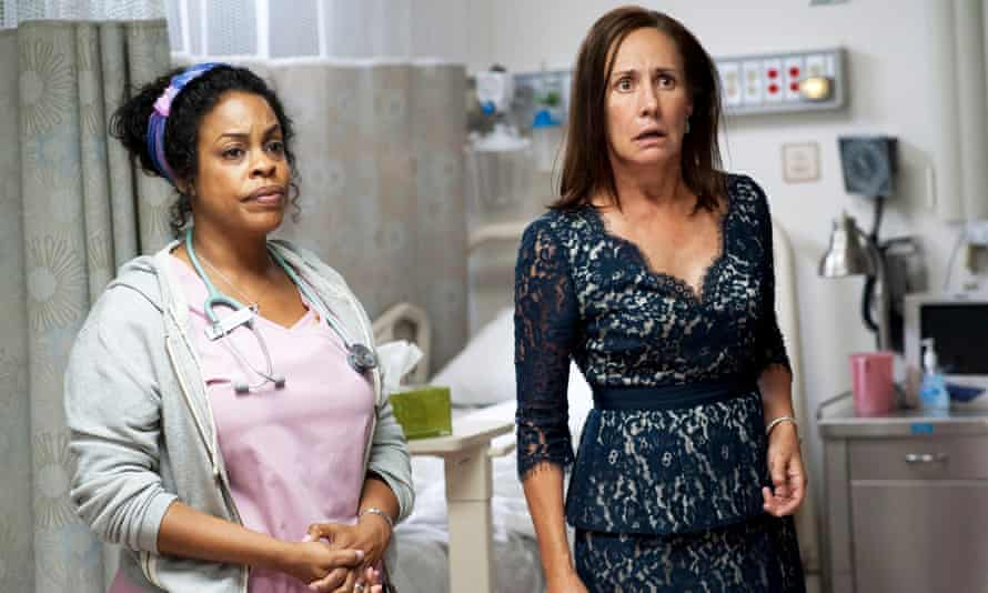 Niecy Nash with Laurie Metcalf in Getting On.