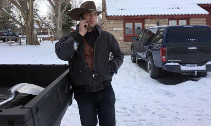 Ryan Bundy talks on the phone