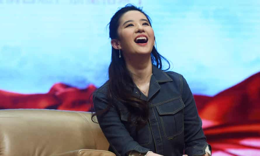 Liu Yifei is to play Mulan in Disney's live-action remake.