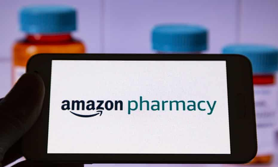 An investigation found ads for Amazon Pharmacy on more than 30 websites that spread Covid misinformation and conspiracy theories.