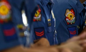 Philippines police uniforms