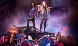 Susan Wokoma (left) and Cara Theobold in Crazyhead on E4, Channel 4's sister station