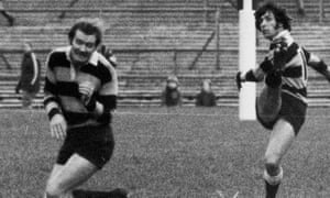 The deft, tactical kicking of Cardiff's Barry John was one of his many skills that made him arguably the finest outside-half of all time.