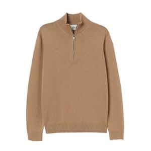 Beige zip front, £49.99, hm.com.
