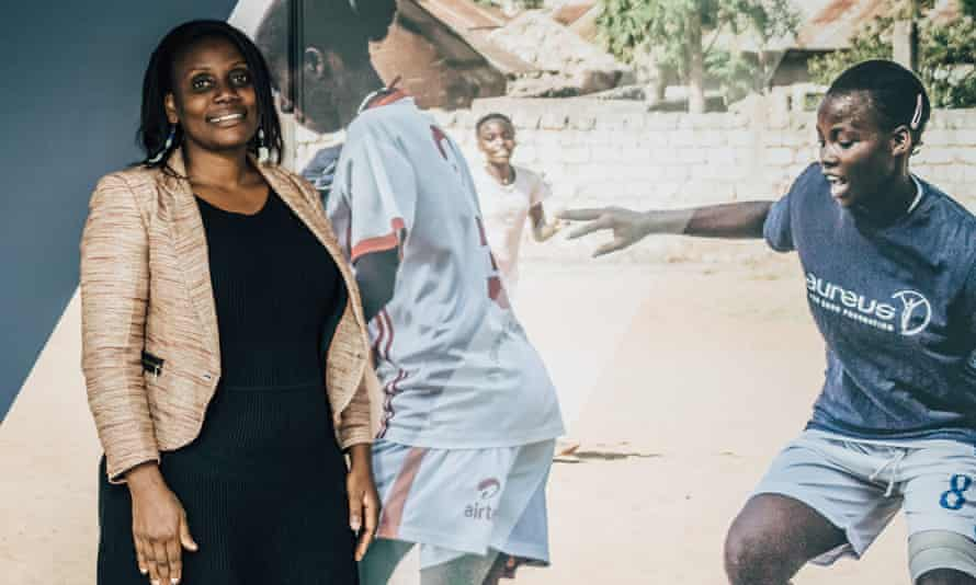 Dorcas Amakobe, director of Moving the Goalposts