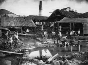 St Ives Consolidated Mine, in 1885