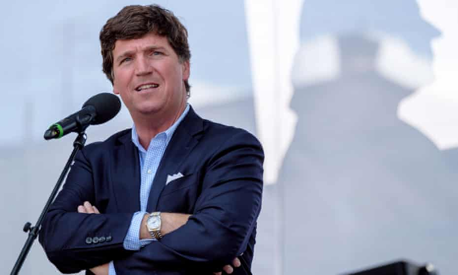 Tucker Carlson has a hugely influential platform, reaching an average 3.3m viewers in August.