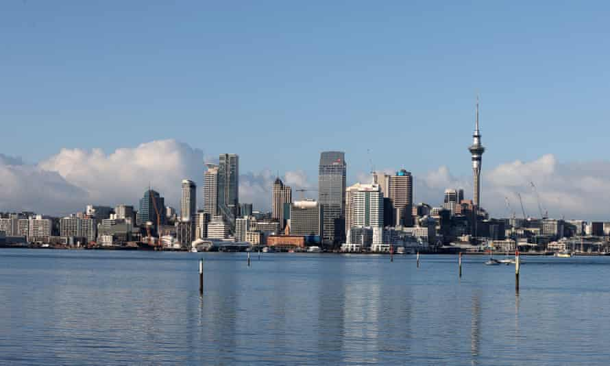 A general view of Auckland's skyline.