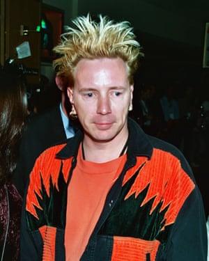 John Lydon in Las Vegas, 1995.