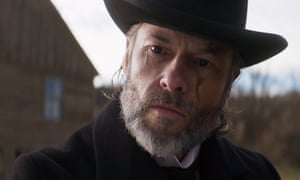 Freaky Old Testament transgressions … Guy Pearce in Brimstone