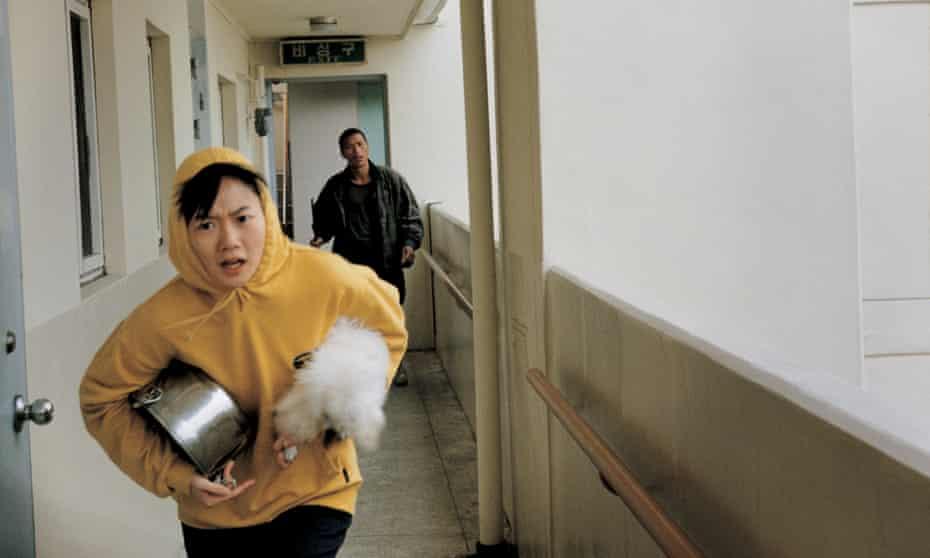 'No animals were harmed' … Bae Doona in Barking Dogs Never Bite.