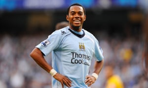 Robinho on his Manchester City debut against Chelsea after making a memorable deadline-day move.