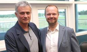 Ed Woodward, Manchester United's executive vice-chairman, has said he is 'delighted with the improvement' at the club since José Mourinho's sacking.