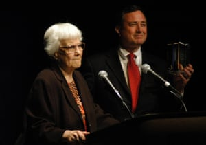 In 2006 Harper Lee was presented with the Lifetime Achievement Award by the Birmingham Pledge Foundation in Alabama.