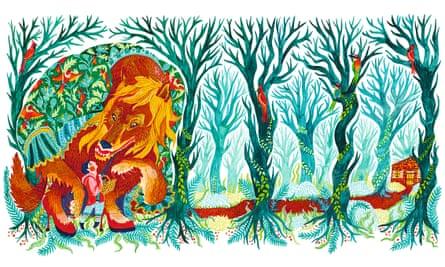'Little Red Riding Hood' illustration by Karrie Fransman.