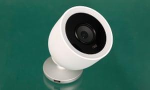 the nest cam iq camera