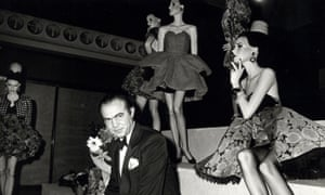 ed7a64ee605 Christian Lacroix, the heir to Yves Saint Laurent – fashion archive, 1987