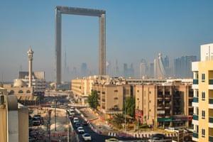 The Dubai Frame in Zabeel Park, Dubai.