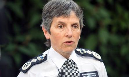 Cressida Dick Met police commissioner