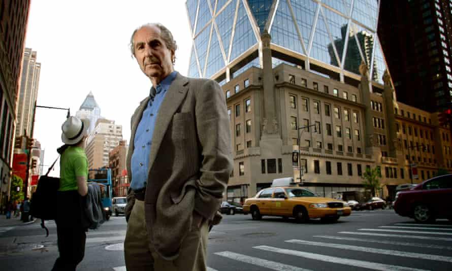 The writer Philip Roth