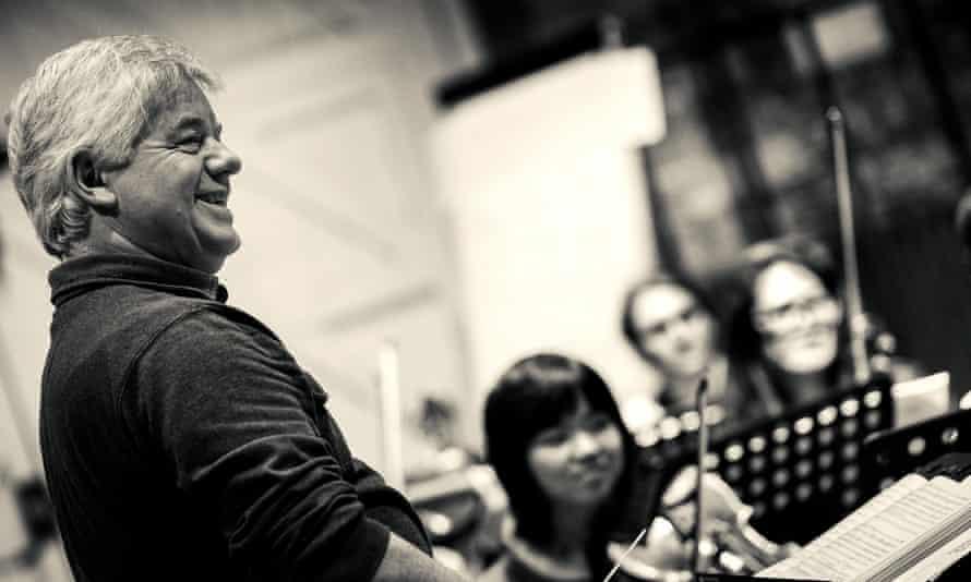 Andrew Greenwood in rehearsal at Alden Biesen Zomeropera, Belgium, in 2014
