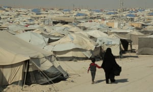 The al-Hawl refugee camp in Syria is home to 67 Australais, 47 of them children under five.