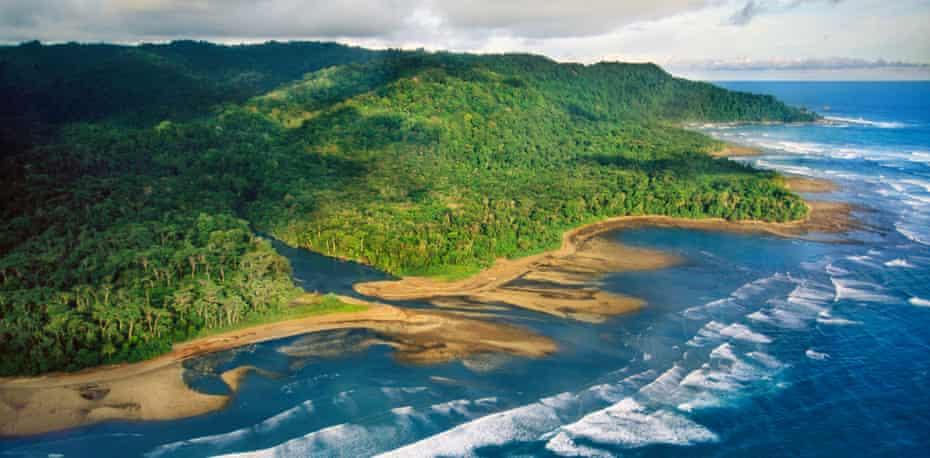 Osa peninsula, Corcovado national park, Costa Rica
