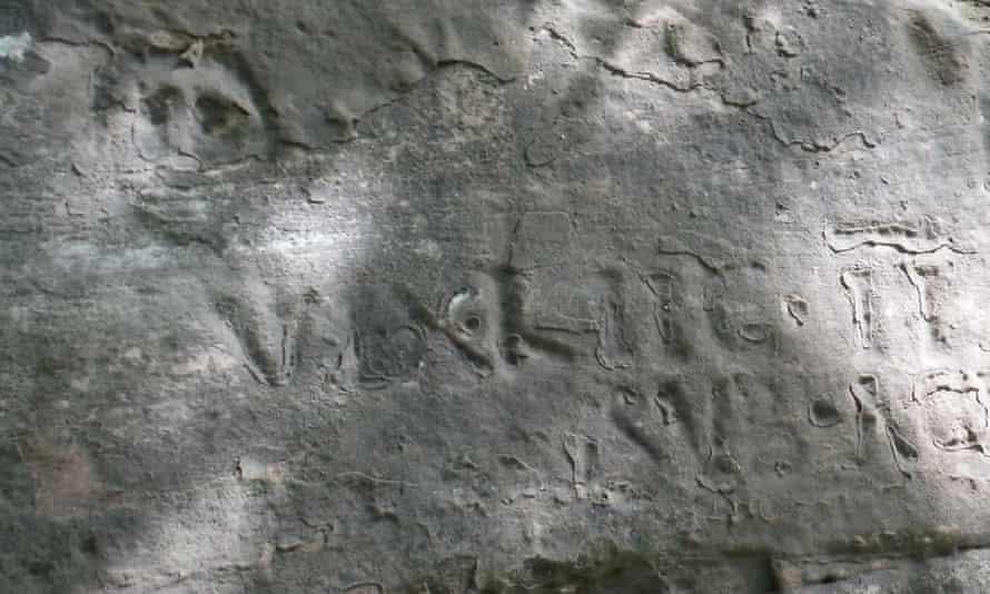 Roman inscriptions on the Written Rock of Gelt