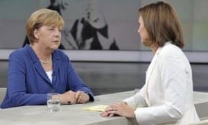 Angela Merkel on ZDF