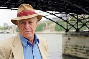 James Salter in Paris in 1999.