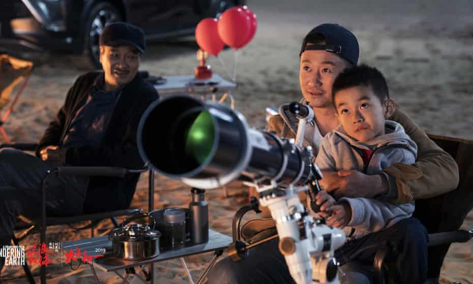 Planetary realignment … homegrown Chinese blockbuster The Wandering Earth.