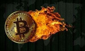 Bitcoin Engulfed in Flames