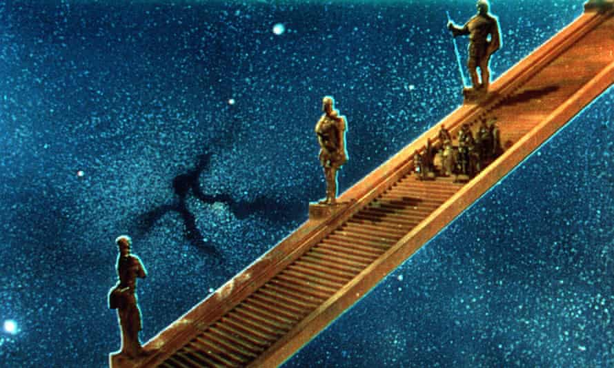 Stairway to heaven in A Matter of Life and Death.