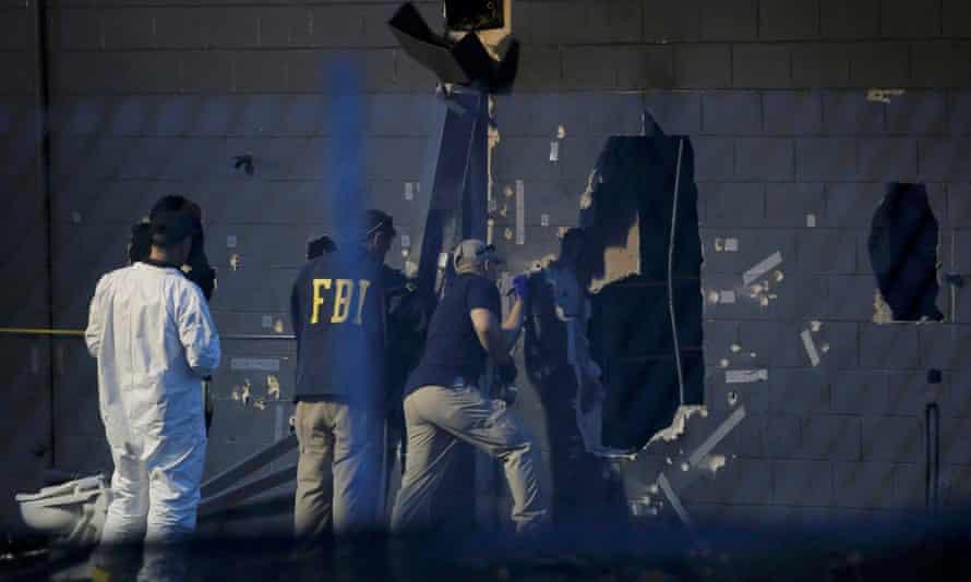 Orlando nightclub shooting hole wall